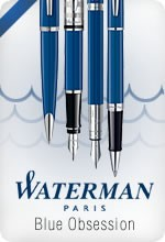 Waterman Blue Obsession