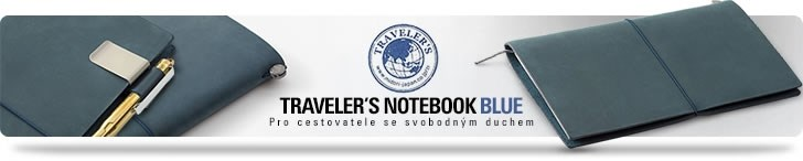 Traveler's Notebook Blue - penShop.cz