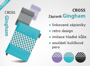 Z�pisn�k Cross Gingham