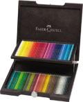 Dřevěná kazeta Faber-Castell POLYCHROMOS - 72 kusů