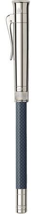 Tužka s ořezávátkem Graf von Faber-Castell Perfect Pencil Night Blue Platinum Plated