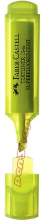 Neonový zvýrazňovač Faber-Castell TEXTLINER 1546, žlutý
