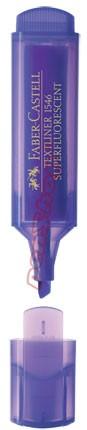 Neonový zvýrazňovač Faber-Castell TEXTLINER 1546, fialový
