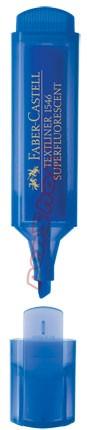 Neonový zvýrazňovač Faber-Castell TEXTLINER 1546, modrý