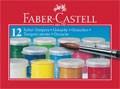 Temperové barvy Faber-Castell 12 ks