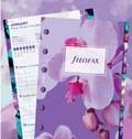Filofax Pocket ilustrovaná náplň s kalendářem 2018 Floral