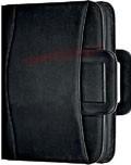 Portfolio Filofax Metropol se zipem A4, kroužková mechanika a ucha