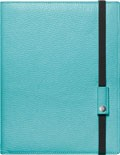 Kožený zápisník Caran d'Ache Léman Turquoise