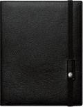 Kožený zápisník Caran d'Ache Léman Black