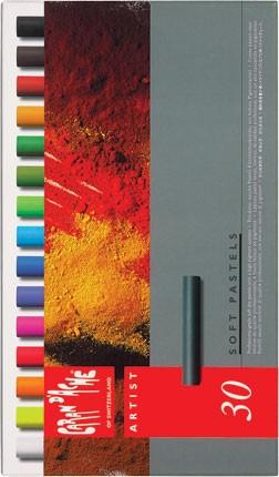 Jemné pastely Caran d'Ache Soft Pastels, 30 barev