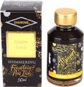 Inkoust v lahvičce Diamine Shimmer Ink Golden Sands 50 ml