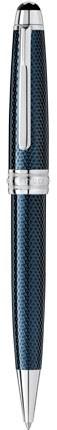 Kuličkové pero Montblanc Meisterstück Solitaire Metal Blue Hour