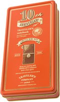 Kazeta Midori Traveler's Notebook Mini 10th Anniversary Edition Red