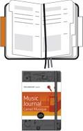 Zápisník Moleskine PASSION Musics (L), TVRDÁ vazba