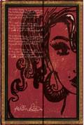 Zápisník Paperblanks Mini Embellished Manuscripts Amy Winehouse, linkovaný