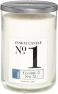 x-do vyprodání-Svíčka Yankee Candle Numeric tumbler velký Coconut and Sea Air No.1