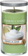 Svíčka Yankee Candle válec střední Vanilla Lime