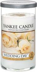 Svíčka Yankee Candle válec střední Wedding Day
