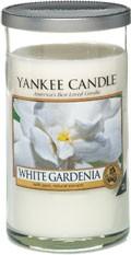 Svíčka Yankee Candle válec střední White Gardenia
