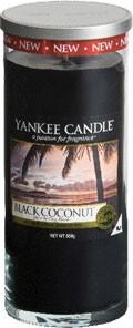 Svíčka Yankee Candle válec velký Black Coconut