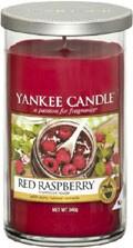 Svíčka Yankee Candle válec střední LE Red Raspberry