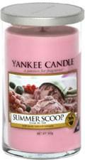Svíčka Yankee Candle válec střední Summer Scoop