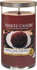 Svíčka Yankee Candle válec střední Cappuccino Truffle
